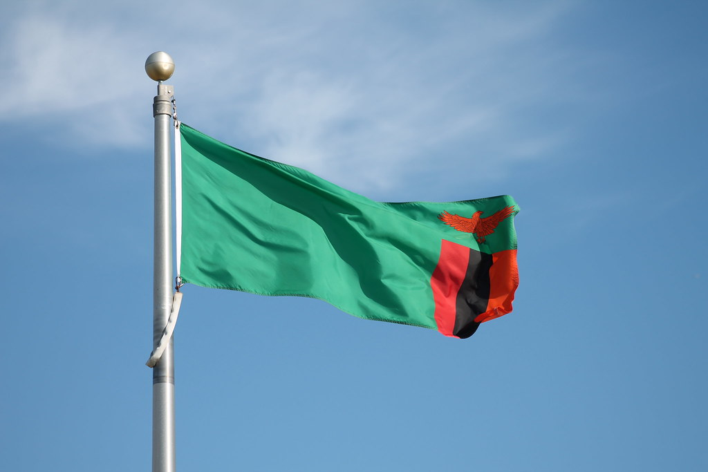 Zambia Flag | Mark Nelson | Flickr