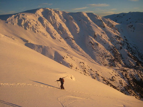 Backcountry skier | by Australian Alps