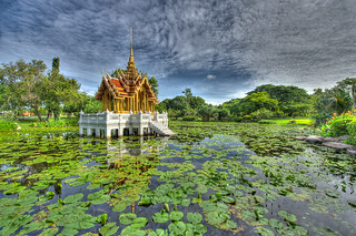 Royal Pavilion in Rama IX Park #5 | by thai-on