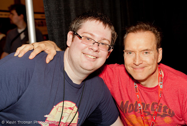 Kerry with Voice Actor Billy West
