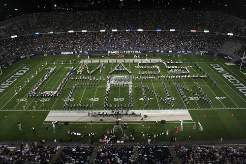 UConn and UMass Bands