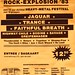 Borne Rock Explosion poster 30 April 1983