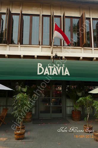 Cafe Batavia Kota Tua Jakarta