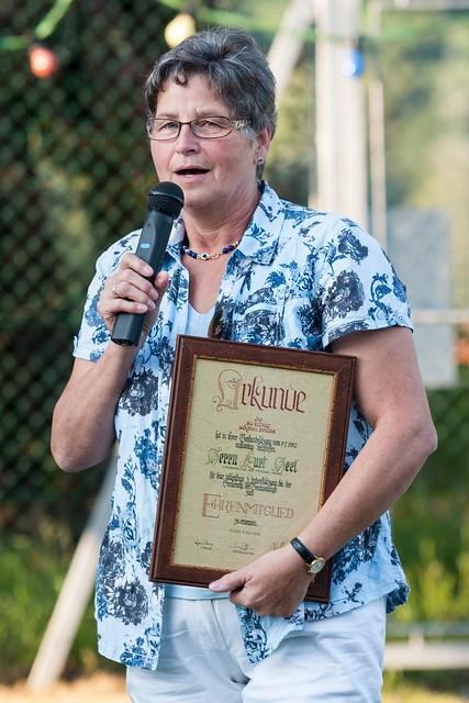 Tennisplatzrenovierung - Abschlussfeier