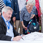 Chris Riddell live sketching | Live sketching with Chris Riddell