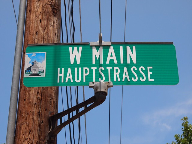 Fredricksburgs Hauptstrasse (Texas, USA 2012)