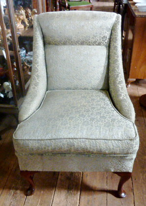 Incredible G662N 1920S 1930S Queen Anne Design Arm Lounge Chair Ocoug Best Dining Table And Chair Ideas Images Ocougorg