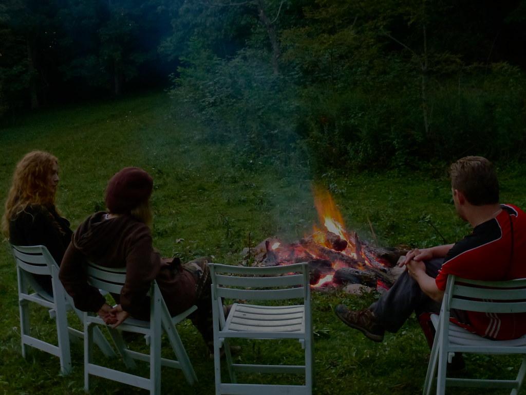 little horse creek campfire