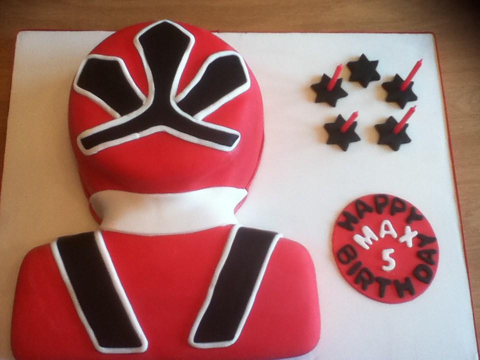 Power Rangers Birthday Cake.Power Ranger Birthday Cake This Is The Red Samurai Ranger