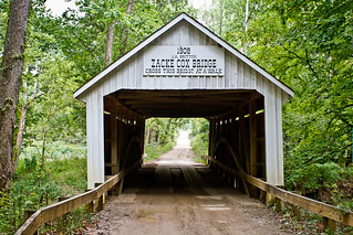 Zacke Cox Bridge in Indiana - covered bridge from 1908 | by Jacob Vann