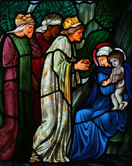 adoration by Burne Jones