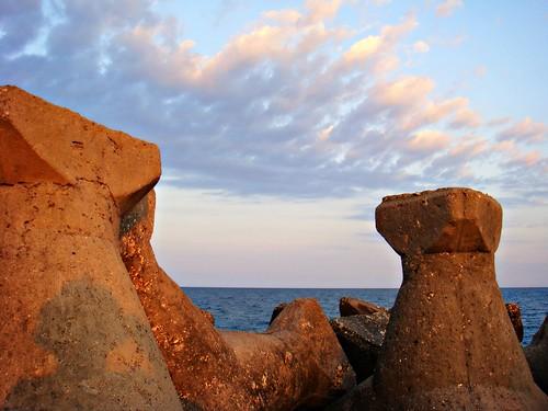 sunset romania blacksea neptun mangalia wavebreakers dobrogea theinspirationgroup