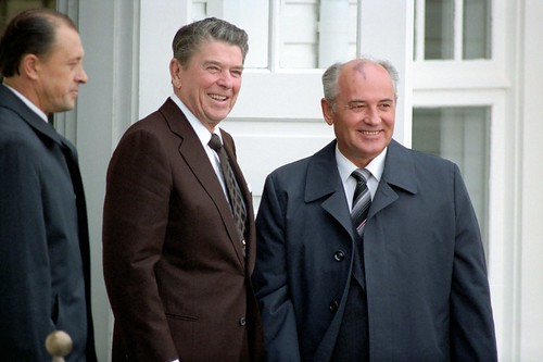 Reagan & Gorbachev Arrive | by The Official CTBTO Photostream