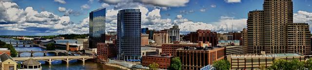 Panorama of Grand Rapids