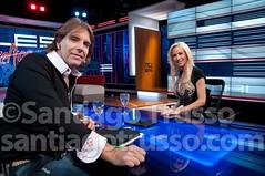 Luciana Salazar entrevistada por Alejandro Fantino