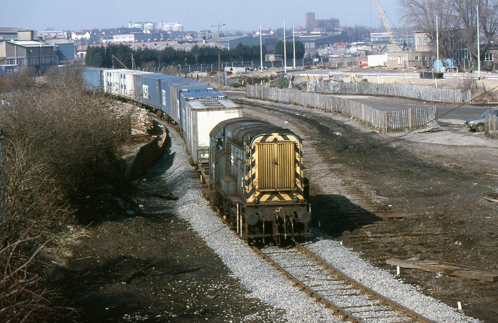 BR Class 08 08460, Ipswich by Crewcastrian