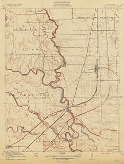 Lathrop, California Quadrangle Topographic Map, 1915