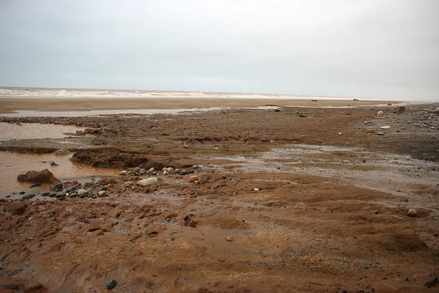 The beach near Tunstall
