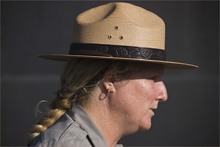 A National Park Service Ranger --  Fort Sumter Charleston (SC) July 2012 | by Ron Cogswell