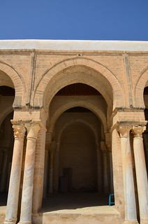 Kairouan, Great Mosque, western portico (1) | by Prof. Mortel