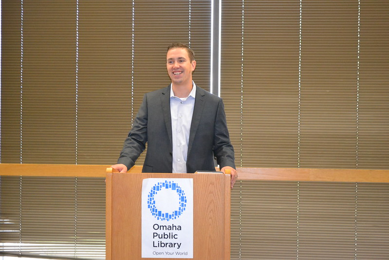Law Man' Shon Hopwood Visits OPL | Omaha Public Library