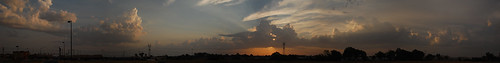 sky panorama sun oklahoma clouds sunrise ok