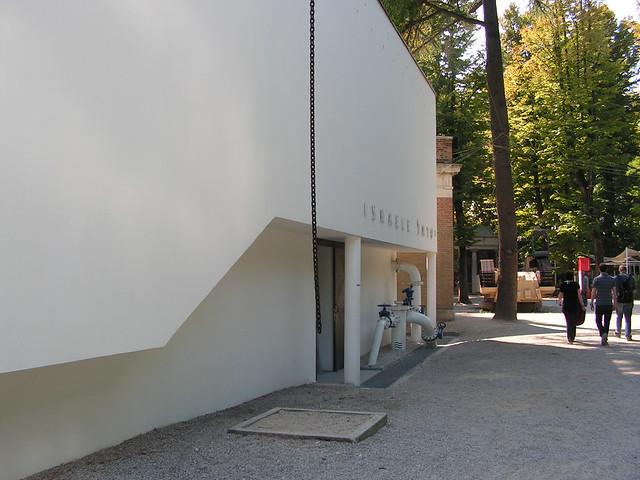 הביתן הישראלי - הביאנלה בונציה -  אדריכל זאב רכטר