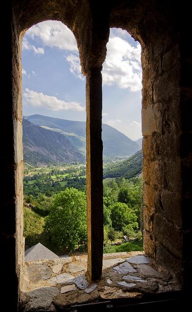 Vista geminada / From the bell tower