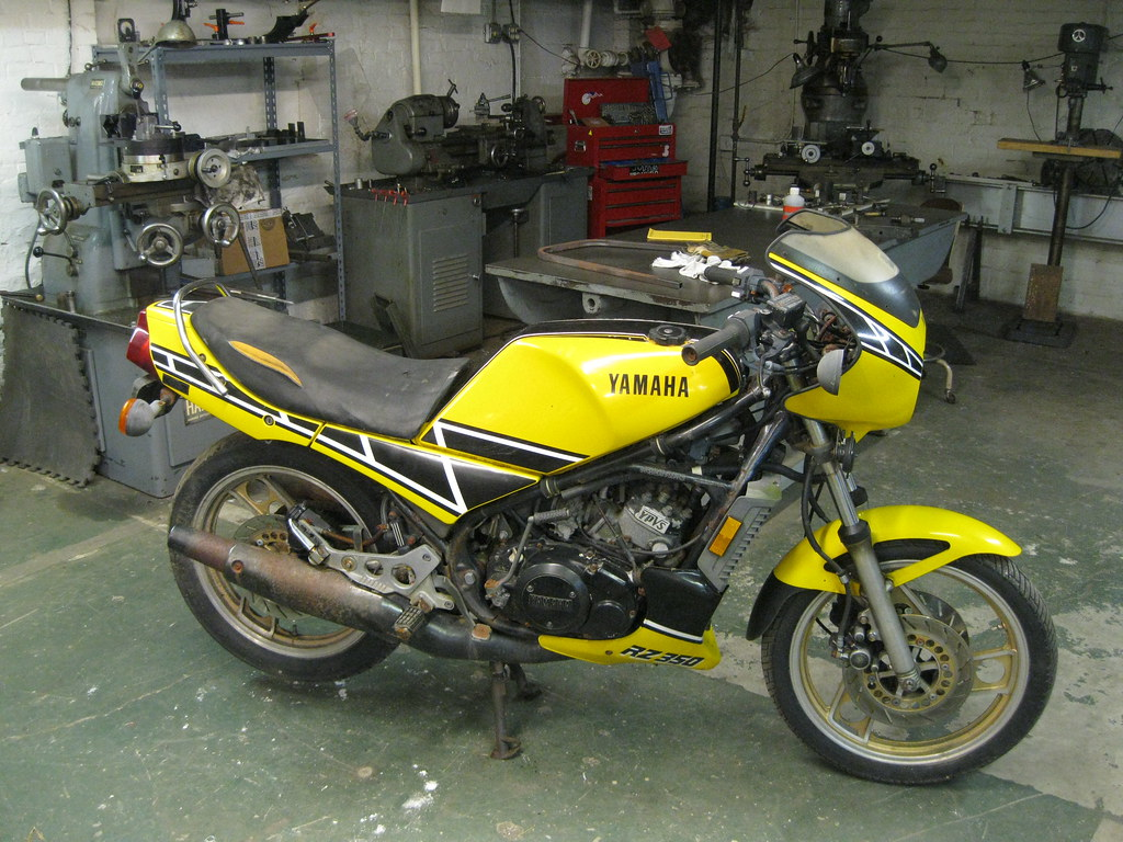 1985 yamaha rz350 | got myself a project for the winter, it'… | Flickr