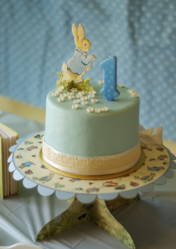 Awesome Peter Rabbit Birthday Cake For A Peter Rabbit Dessert Tabl Flickr Personalised Birthday Cards Epsylily Jamesorg