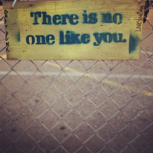 there is no one like you. | by sarahwulfeck