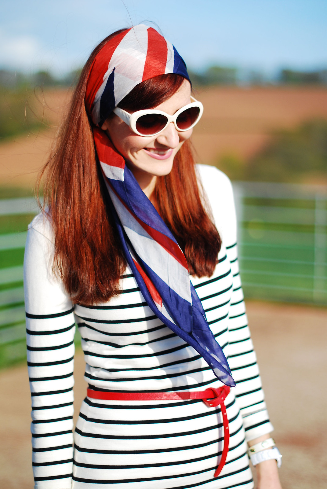 Not Dressed As Lamb - nautical stripes