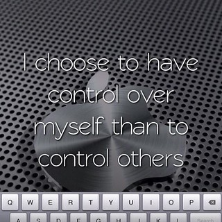 I choose self control! | by Raphaellove