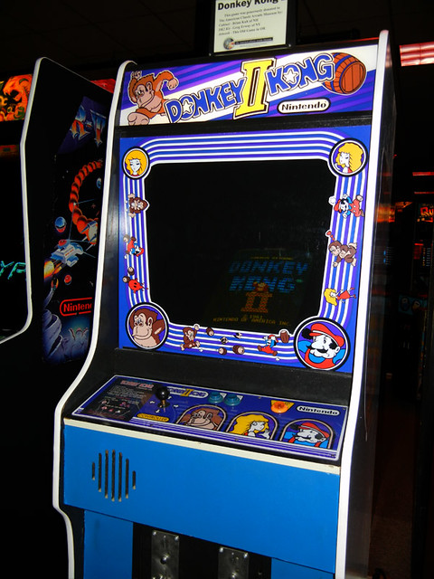 Donkey Kong 2 at Funspot