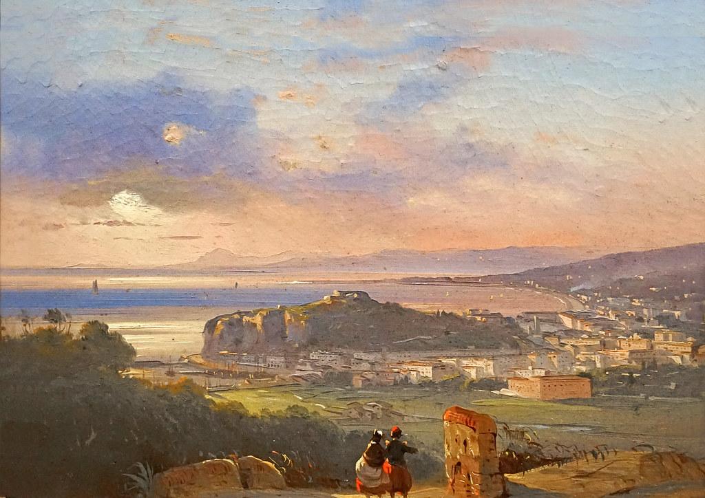 Nice en 1851 par Ippolito Caffi (Musée Correr, Venise)