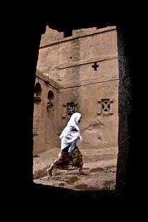 Rock-hewn churches of Lalibela (Ethiopia)