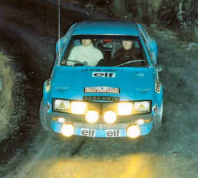 Renault Alpine A310 – Montecarlo 1975