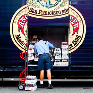Loading Up on the Old Anchor Steam | by Thomas Hawk