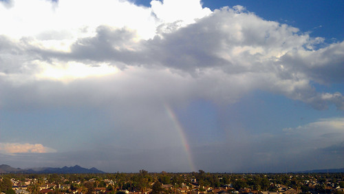 city arizona sky urban mountains phoenix rain clouds town rainbow glendale suburban monsoon 4g sensation htc cloudsstormssunsetssunrises