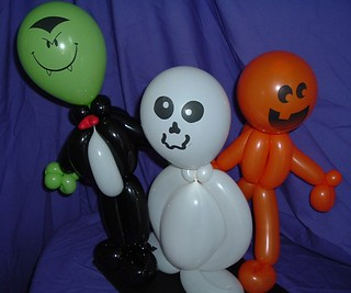 halloween balloons | by lannalee