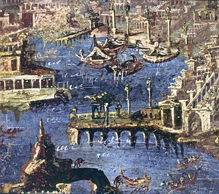 Stabiae -Harbour scene - Naples Arch Museum | by The Classical World
