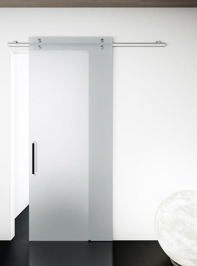 Absolute satinato 2 | Porta scorrevole esterno muro Absolute ...