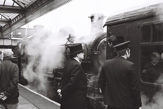 Steamy Scene at the Great Central, Loughborough