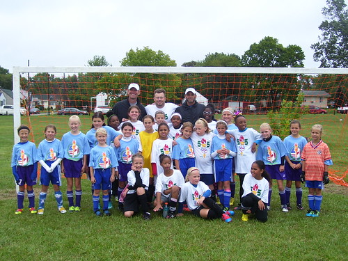 Under 10 Girls soccer | by Flint Olympian and CANUSA Games