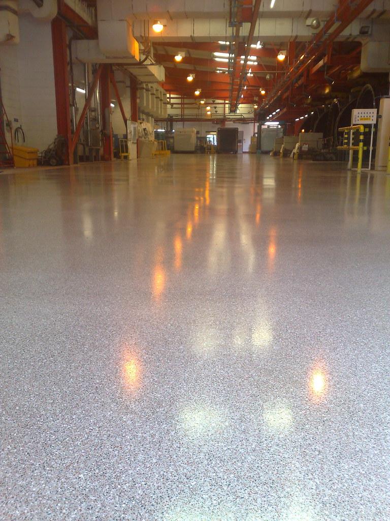 Resin Terrazzo Flooring Quest Industrial Services Flickr