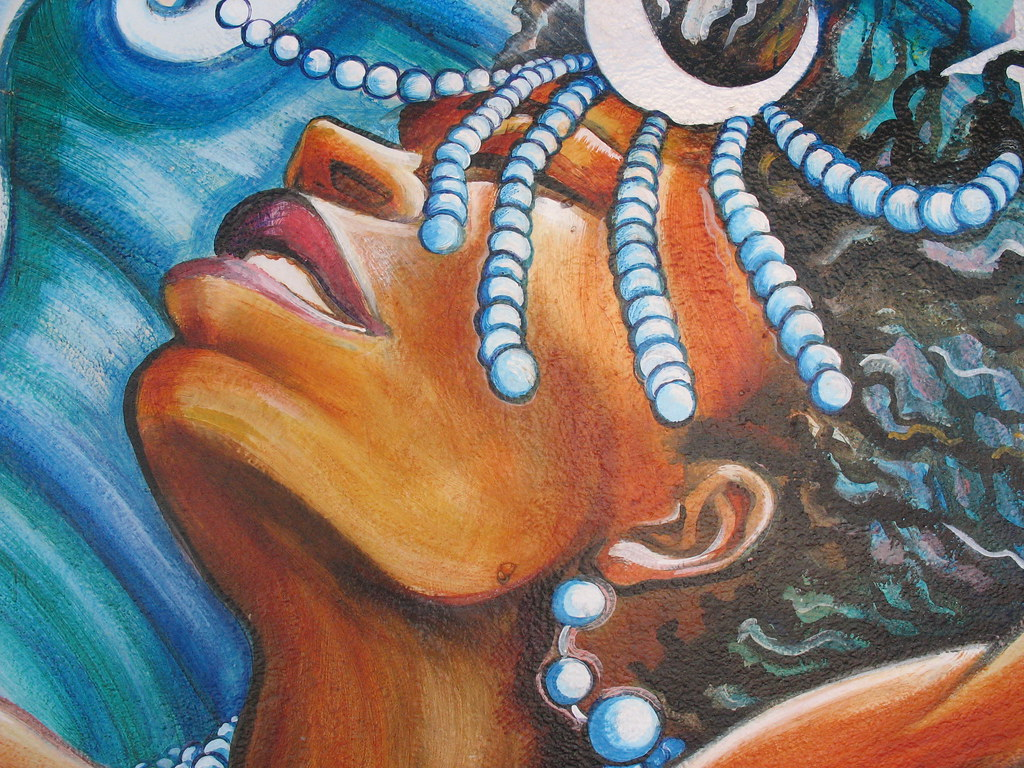 by The Women's Building of Yemayah: A powerful Yoruba Orisha, or goddess. | by The Women's Building of