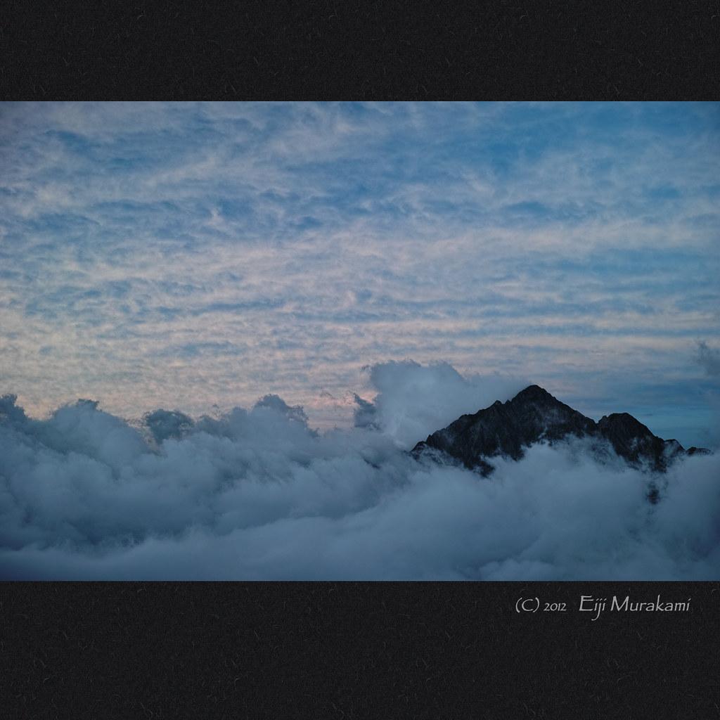 雲上の剱岳 | Toyama Tateyama , JAPAN , Sigma DP2 Merrill 夕日に ...