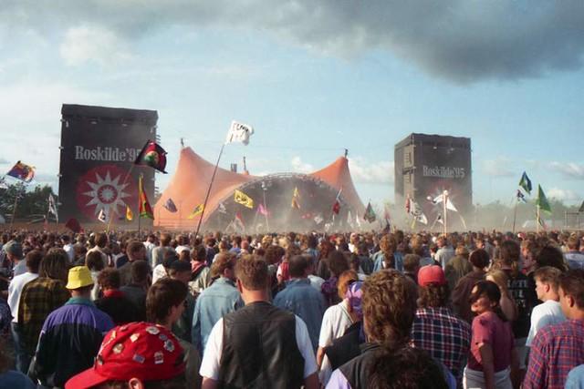 R.E.M. at Roskilde Festival, 1995