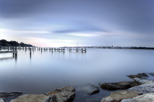 longexposure day cloudy annapolis canonef1740mmf4lusm navalacademy severnriver flatlight canon5dmkii hitechgnd09 leebigstopper disappointingsunrise