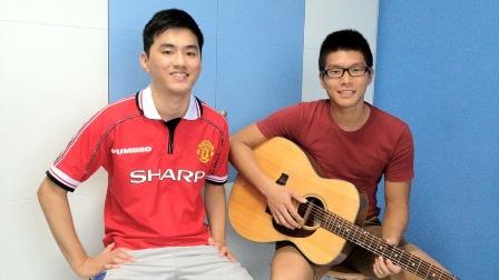 Beginner guitar lessons Singapore Jianwen